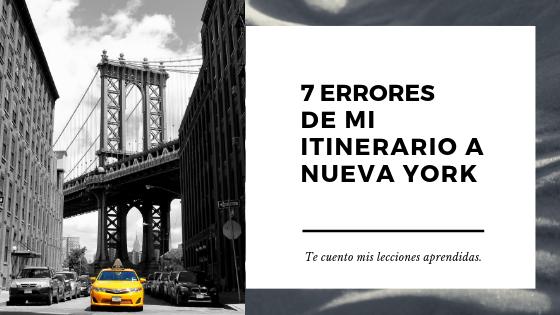 Nueva York errores y lecciones aprendiadas
