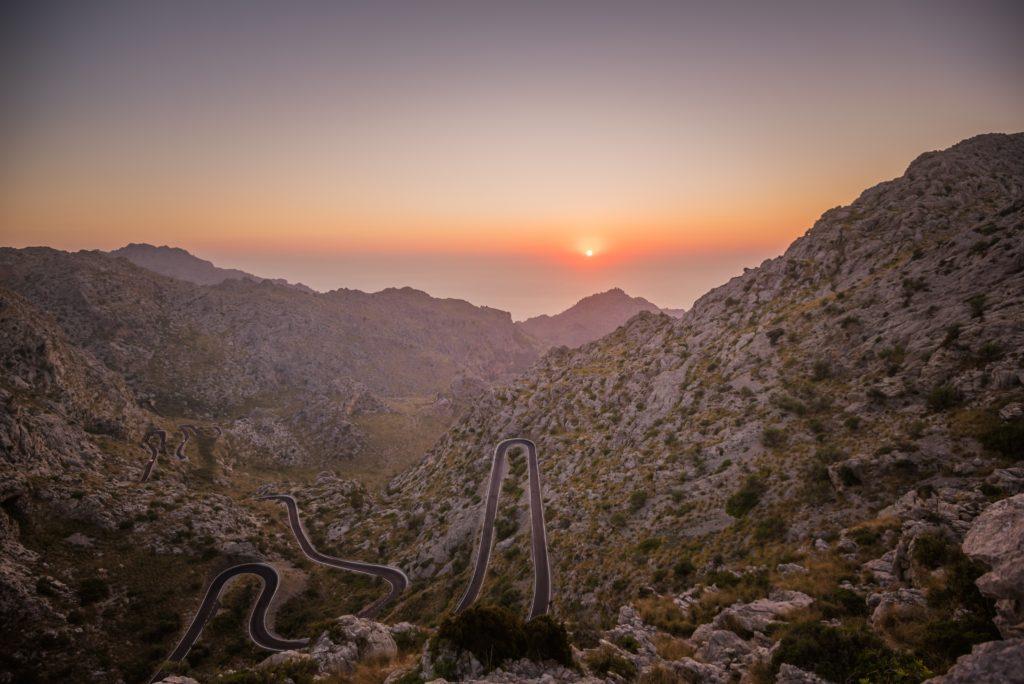 Serpenteante Sa Calobra Mallorca