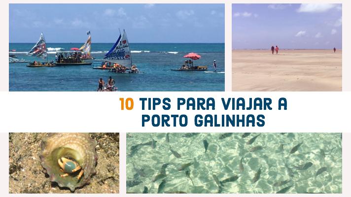10 Tips para viajar a Porto Galinhas