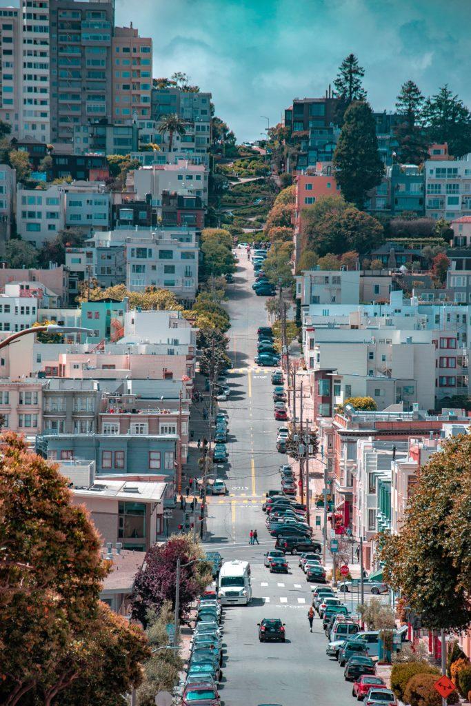 Calles empinadas SF
