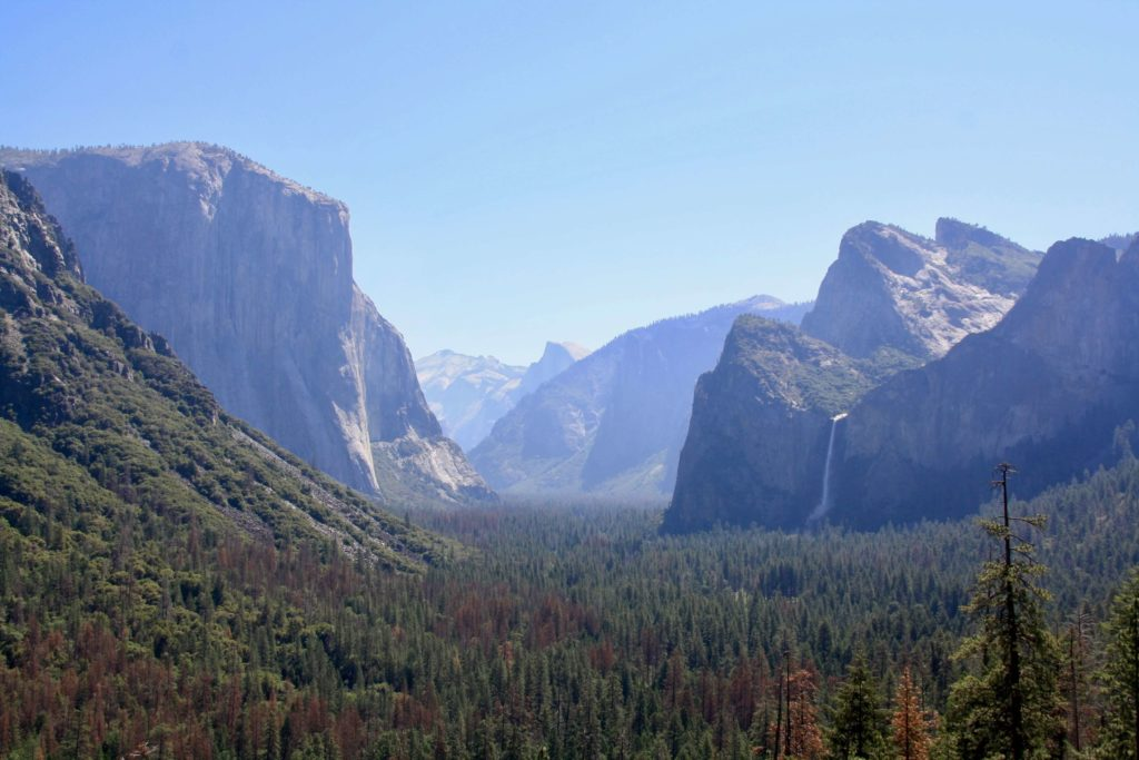 Yosemite Valle Callifornia Destinos